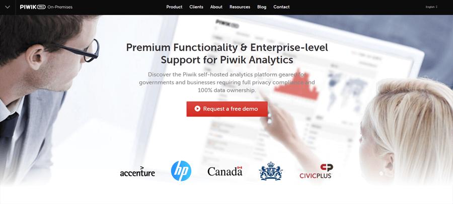 Piwik Pro website