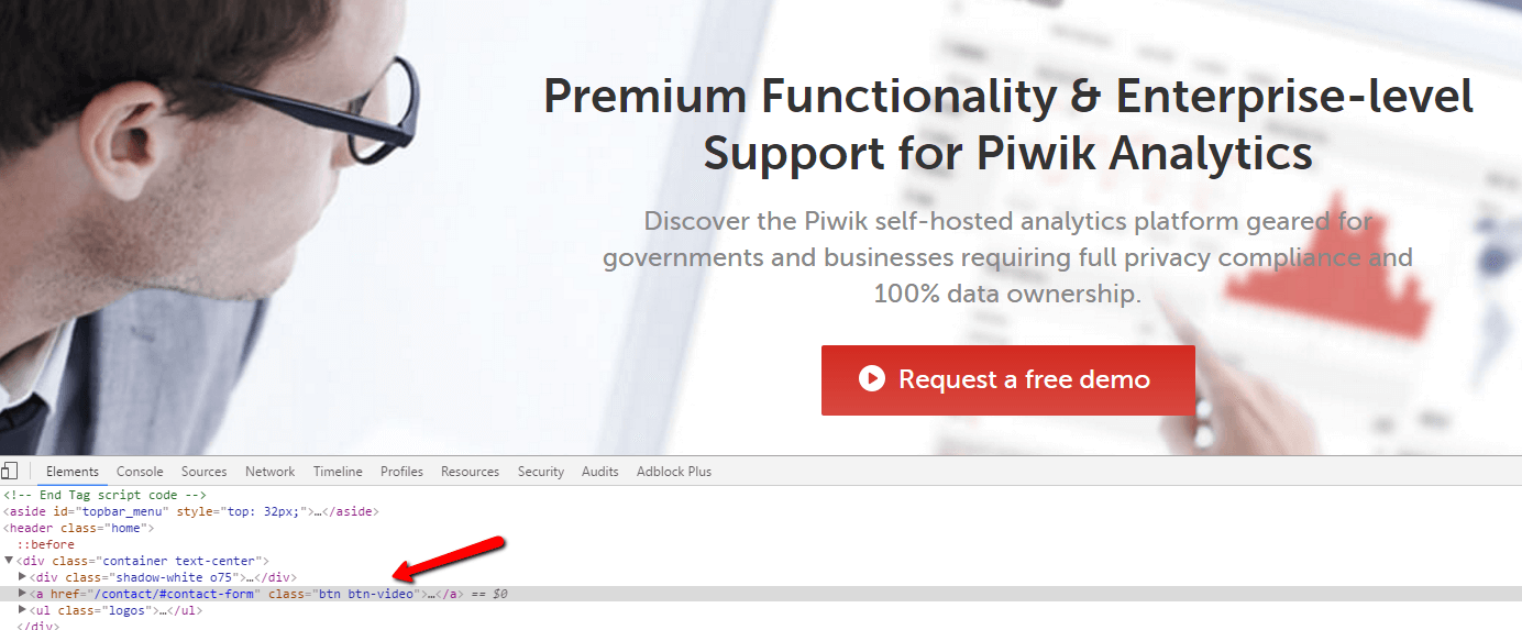 Piwik Pro - code preview