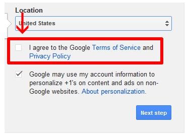 Google-opt-in