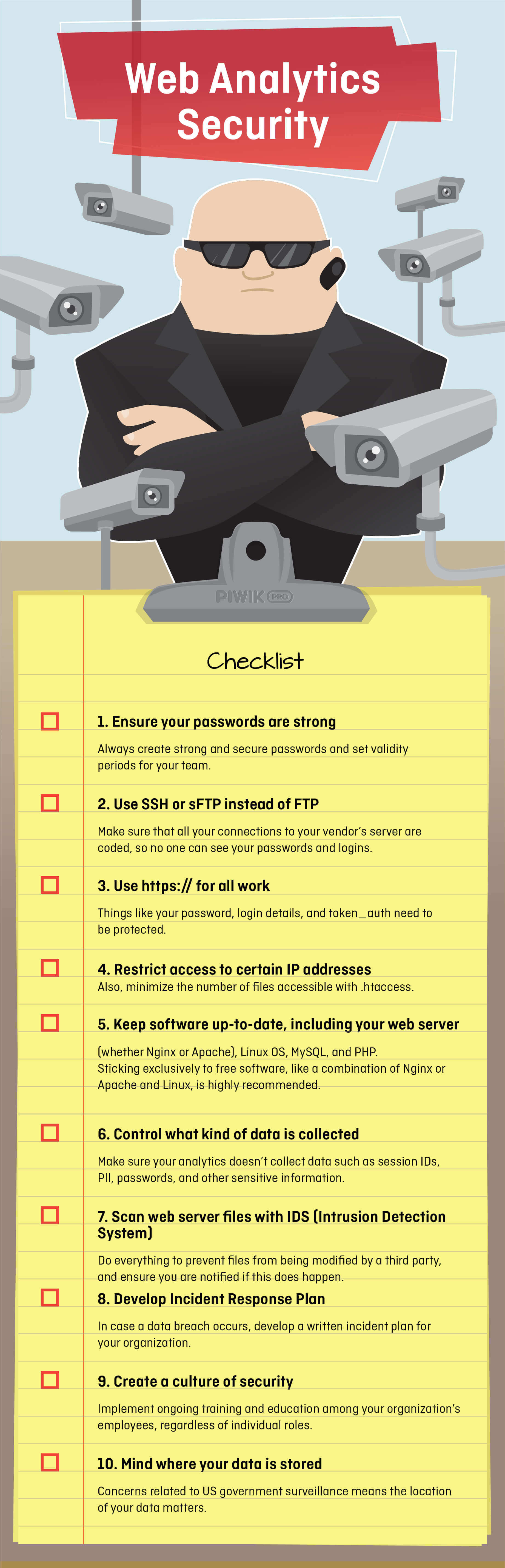 Web Analytics Security Checklist