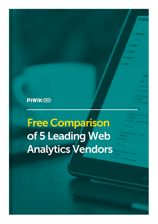 Free Comparison of 5 Most Popular Web Analytics Vendors