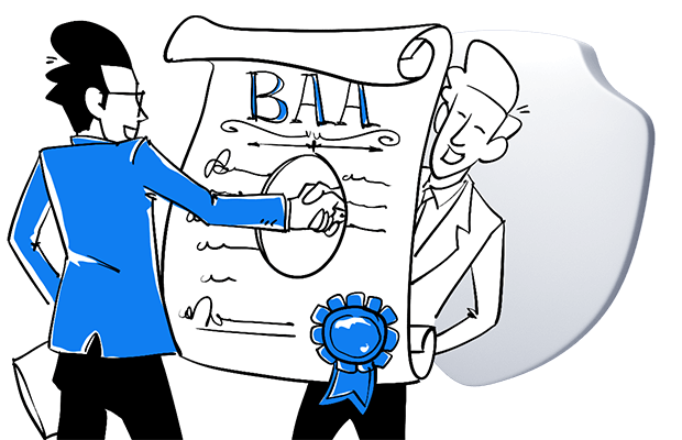You don't have to sign a business associate agreement (BAA) with your web analytics vendor to be HIPAA-compliant