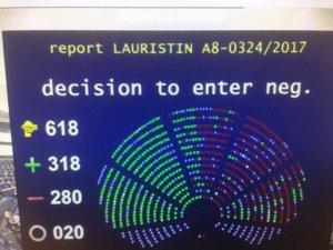 EP vote