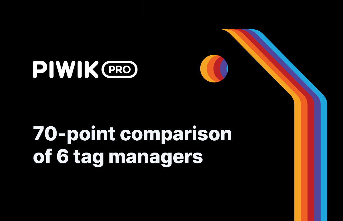 70-point comparison of 6 tag managers
